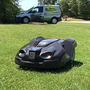 Automower June install Small