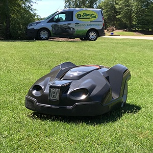 Automower June install Small
