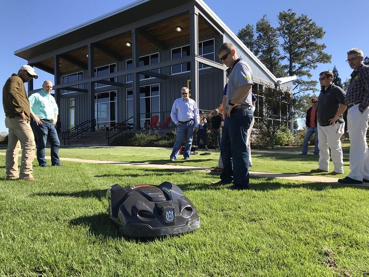 Robotic Lawn Mowers are at Super-Sod Stores Across the Southeast