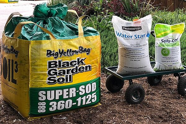 compost lime and fescue seed deal