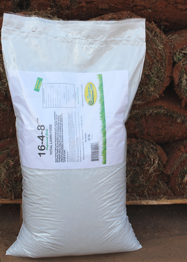 16-4-8 fertilizer bag