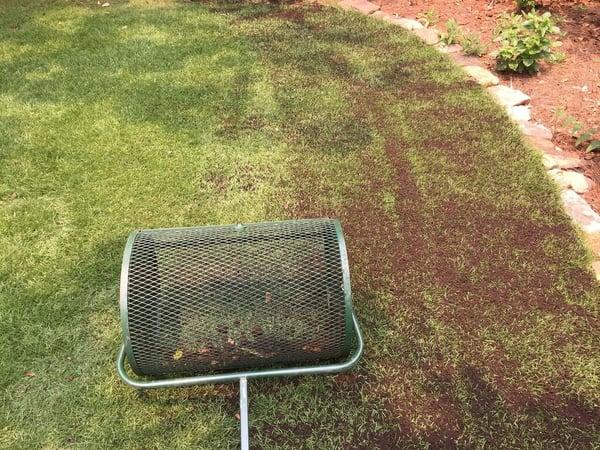 Soil3 Compost Spreader for Top Dressing Lawns
