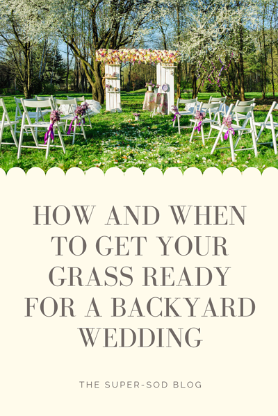HOW AND WHEN TO GET YOUR GRASS READY FOR A BACKYARD WEDDING -  final
