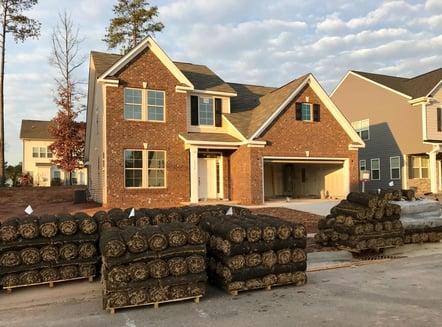 dormant bermudagrass installation at new house.jpg