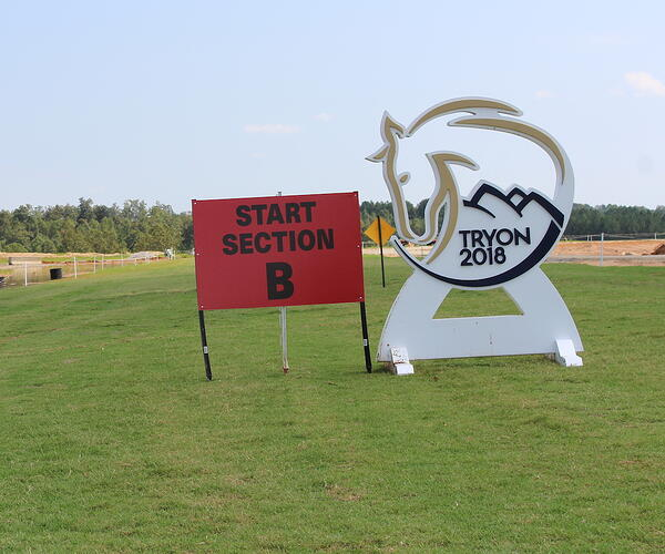 Tryon 2018 sign on TifTuf