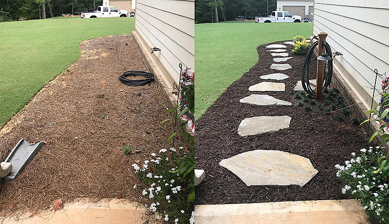 before-after-flowerbed