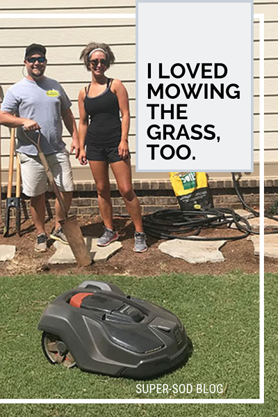 I Loved Mowing Grass pinnable
